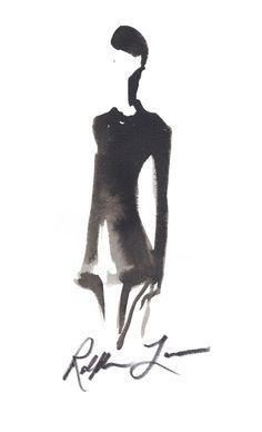 Ralph Lauren sketch.