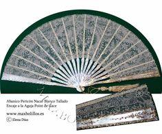 Abanicos de encajes .www.maxbolillos.es