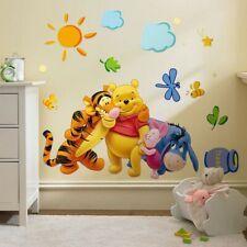 The Pooh Wall Decals Kids Bedroom & Baby Nursery Stickers Art Decor Room Winnie Kids Room Wall Decals, Nursery Wall Stickers, Removable Wall Stickers, Wall Stickers Murals, Window Stickers, Wall Murals, Cute Winnie The Pooh, Winnie The Pooh Nursery, Winnie The Pooh Friends