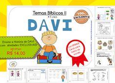 Ensinar História de Davi Bíblia no Ensino Cristão Domiciliar