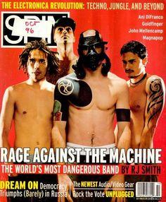 Spin magazine, Rage Against the Machine
