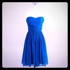 J Crew Arabelle Sweetheart Silk Chiffon Dress Sz 6
