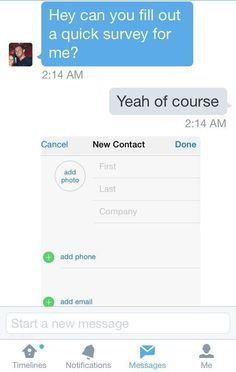BEST LINE EVER... After you already got the number. Can you fill. Online  SurveyFunny ...