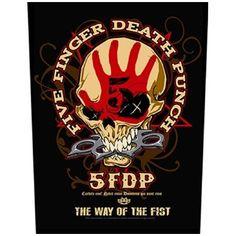 Five Finger Death Punch - Fist selkamerkki It Band, Bands, A Monster Calls, I Walk Alone, Band Jacket, Five Fingers, Music People, Pune, Heavy Metal