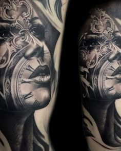 Tony Mancia's Tattoos, Striking Realistic And Surrealistic Ink Pieces With Architectural Influences