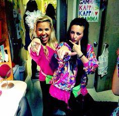 Ole Miss KKG Swap Theme - 80s with Kappa Sig!