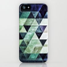 Tiles iPhone Case by spires - $35.00