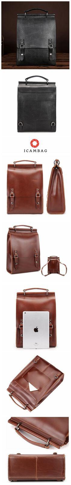 ec1ee77006de Genuine Leather Neutral Backpack For Men BB1010 Neutral Backpacks