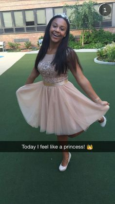 Nia dressed up with polished girlz
