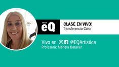 Clase en Vivo EQ - ¿Cómo realizar una transferencia a color? con Mariela... Youtube, Instagram, Bold Colors, Upcycling, Live, Tutorials, Pictures, Youtubers, Youtube Movies