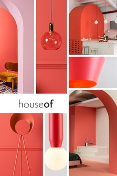 Pantone have listed coral as their colour of the year and they know a thing or two about colour.  Living coral is brighter than the corals we have seen in season's past and is a great colour pop to add to any interior.  It's confidence makes it the perfect choice to brighten up a white room or against a cool grey wall. Coral Walls, Grey Walls, Coral Kitchen, Live Coral, Colour Pop, Kitchen Doors, Modern Colors, Corals, Color Of The Year