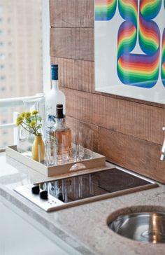 Indicado para varandas, o cooktop não ocupa muito espaço e só precisa de u...