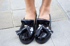 ACNE azalea tassel loafers
