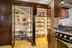 Kitchen Remodel (Recessed - Built In Pantry) - traditional - Kitchen - San Francisco - RemodelWest