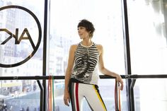 Meet the fashion guru who wears diamonds and designer clothes to her workouts