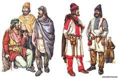 Будничная и праздничная одежда ранних славян зарубинецкой культуры (3 в. до .н.э.- 3 в.н.э.)