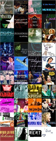 Musicals!!!!!!!!!!!!!!!!!!!!!!!!!!!!!!!! :)