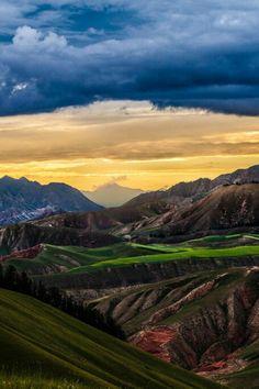 Qinghai. China. Google +