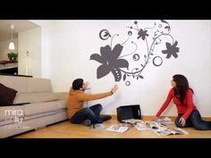 DIY WALL ART - DISEÑO DE PARED ENREDADERA - YouTube