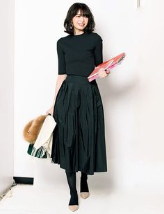 2864941234 How to wear skirts ideas work outfits Skirt Outfits, Modest Outfits, Chic  Outfits,