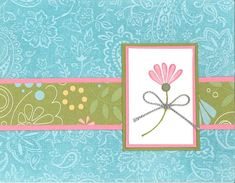 SU! Polka Dots and Paisley stamp set 3 with Paisley background stamp.  I made this as a birthday card for my daughter-in-law, Crystal