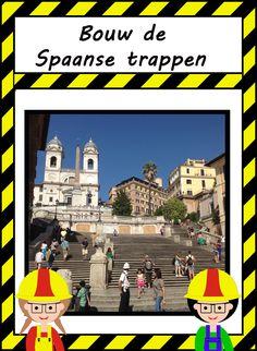 Bouw de Spaanse trappen