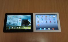 Apple iPad 2 vs Asus Transformer Prime head-to-head review