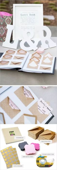 Don't pre-tape envelope, ask ppl to sign envelope and leave wishes or something for bucket list or other =guestbook + notes for us to read later. Tell ppl they can put more than one note in their envelope if the wish Wedding Guest Book, Diy Wedding, Wedding Favors, Rustic Wedding, Wedding Gifts, Dream Wedding, Wedding Decorations, Wedding Invitations, Wedding Designs