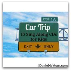 Car Trip- 15 Music CD for Kids