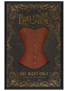 Burlesque Show - Gilt Home