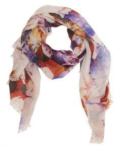 floral ss12 juma scarf