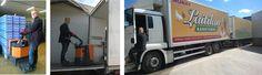 Laitilasta lähtee päivittäin kananmunakuljetuksia kohti keskusliikkeitä ja tukkuja. Trucks, Vehicles, Truck, Car, Vehicle, Tools