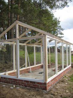 Greenhouse roof - Kasvihuoneen katto