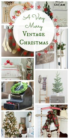 The Golden Sycamore- Vintage Christmas round-up