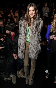 The Olivia Palermo Lookbook : New York Fashion Week Fall 2012: Olivia Palermo at Rebecca Minkoff