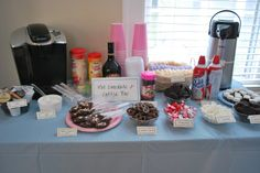 Hot Chocolate Bar Party | ... and Accessories: Madeleine's Cupcake and Hot Chocolate Birthday Party