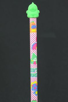 Green Eraser Kid's Monster Pencil
