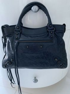 c8b0eaabc5 Details about Balenciaga Classic The City Anthracite New