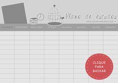 Como organizar os estudos para o vestibular + Plano de estudo para download - Casinha Arrumada