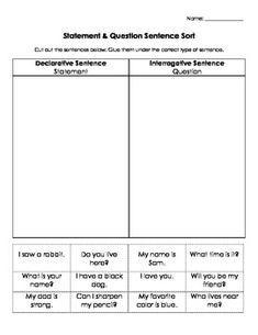 exclamatory sentences worksheet
