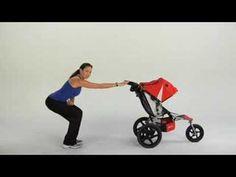 Stroller Strides: Stroller Exercises Stroller Workout, Stroller Strides, Power Walking, Total Body, Program Design, Workout Programs, Little Ones, Baby Strollers, Exercises