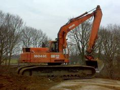 Hydraulic Excavator, Heavy Machinery, Heavy Equipment, Crane, Military Vehicles, Transportation, Hobbies, Construction, Tractors