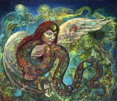 Martina Hoffman / Inana's Descent / Divine Feminine / Shadow / Embodied <3