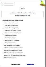 4th Grade Verb Worksheets | GRADE 4 English | Pinterest ...