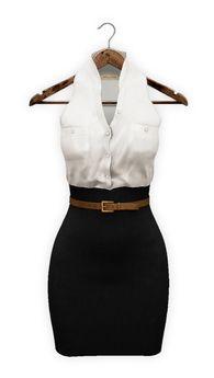 {mon tissu} Silk Tucked Pencil Dress (X X S/XS/S/M/L) ~ Classic