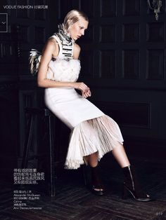 awesome Vogue China March 2014 | Juliana Schurig by Lachlan Bailey  [Editorial]