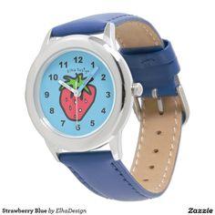 Strawberry Blue Watch