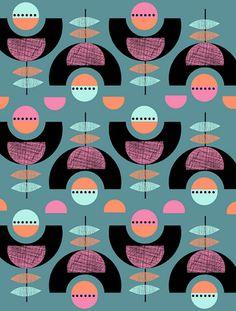 Pattern by the Print Tree (via Print & Pattern)