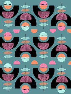 Pattern by the Print Tree (via Print & Pattern)