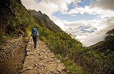 Peru - Hiking and biking on Peru's Inca Trail.